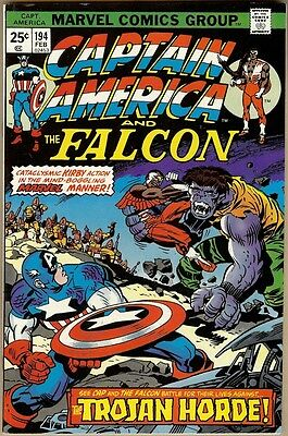 Captain America #194 - FN/VF