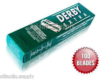 Derby Extra Double Edge Razor Blades - Pack Of 100 - Cheapest On Ebay