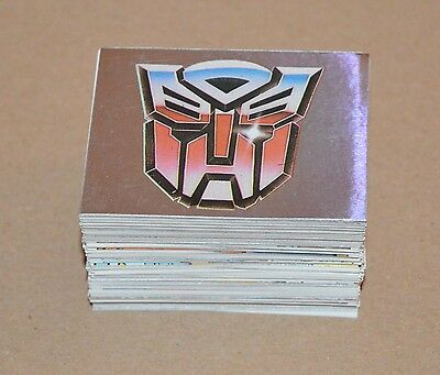 1991 Transformers Stickers CHOOSE ANY 10 stickers From The List Panini Like