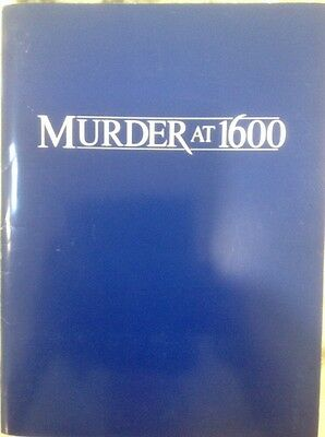 MURDER AT 1600 MOVIE PRESS KIT,plus bonus of ONE NIGHT STAND MOVIE PRESS KIT