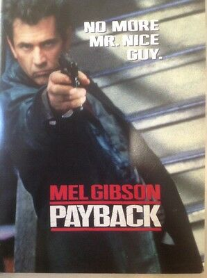 Payback Movie Press Kit, Plus Bonus Press Kit For The Peacemaker