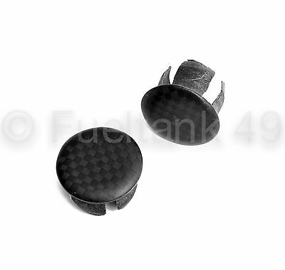 Geovelo Matt Carbon Fibre Bar Ends 1 Pair