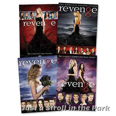 Revenge: Emily VanCamp Complete TV Series Seasons 1 2 3 4 Box / DVD Set(s) NEW!