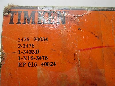 New Timken Tapered Roller Bearing Double Cup Two Cone Matched Set 3476 90034