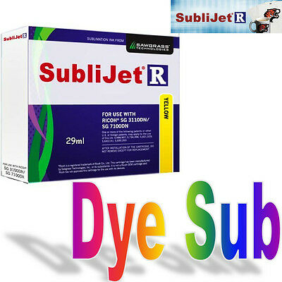 Sublijet - R Sublimation Ink Yellow (Y) Cartridge For Ricoh Sg 3110D/sg 7100Dn.
