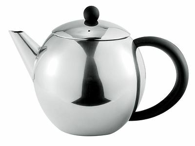 Benzer - Como Polished Steel Tea Pot 500ml 3 Cup
