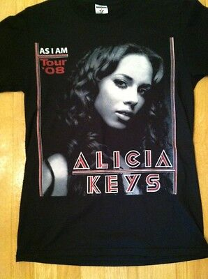 Alicia Keys 2008 Tour Shirt
