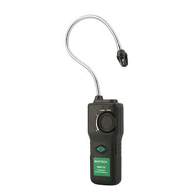 MASTECH Combustible Gas Leak Detector Propane Natural Gas With Sound Light Alarm