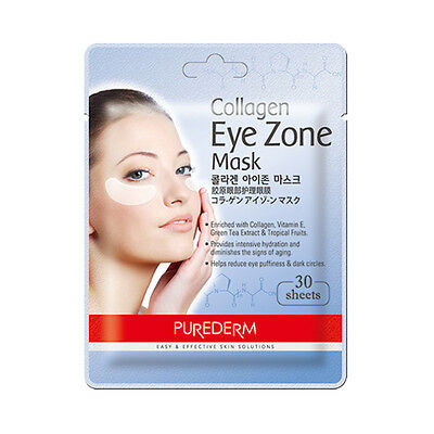 [PUREDERM] Collagen Eye Zone Mask - 1pack (30pcs) ROSEAU