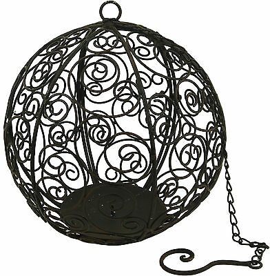 Hanging Spherical Candle Holder 30cm Diameter - 2123