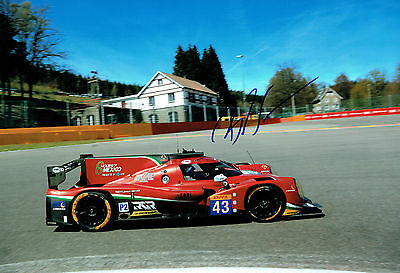 Bruno SENNA SIGNED 12x8 Photo AFTAL COA Autograph Formula E Mahindra Racing