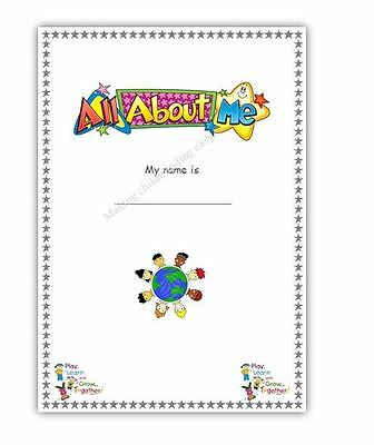Childminder *All about me/child record forms permissions book*EYFS childminding