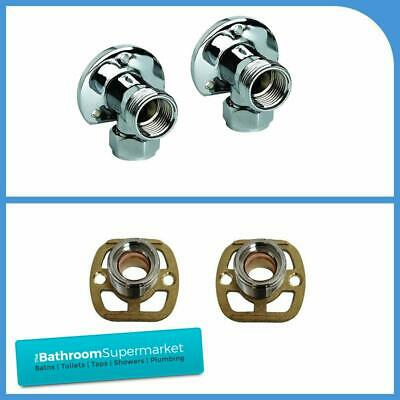 Thermostatic Bar Mixer Shower Wall Easy Fit Fixing Kit For Exposed Shower Brass