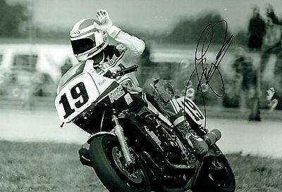 Fast Freddie SPENCER SIGNED Photo HONDA Daytona SPEEDWAY AFTAL Autograph COA