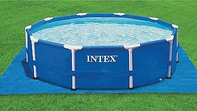 Intex Pool Ground Cloth to Protect Grass and Backyards and Pool Surface