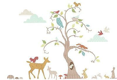 Suncrest Funtosee Woodland Wonderland 76 Wall Stickers Nursery Decoration BNIP