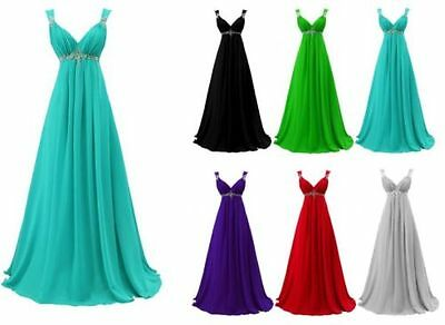 Stock Formal Long Bridesmaid Dress Evening Party Prom Homecoming Cocktail Gown