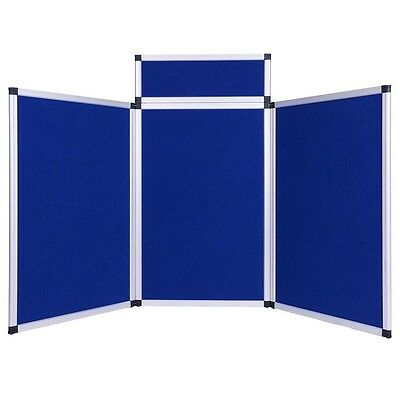 3 Set Panel Exhibition Folding Display Boards Top Stand Header Aluminum Frame