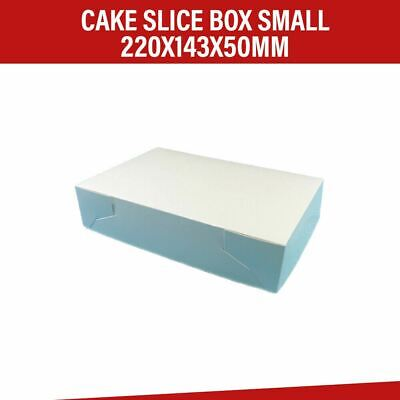 Cake Boxes Mondo Small 220 x 143 x 50 MM - 100/Pk Cupcake Boxes Cake Boards