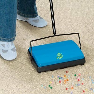 Bissell Sweep-Up Cordless Wireless Vaccum Carpet Floor Sweeper Push Vaccumless