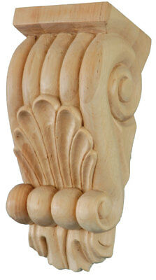 Classical Corbels (Pair) #719 in solid Cherry Wood