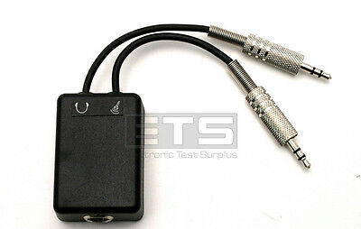 Exfo GP-307 Headset Adapter For VCS-20A Multi Function Fiber Optic Talk Set