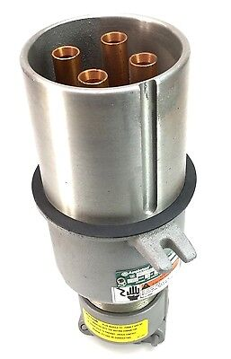APPLETON AP20044CD 200-AMP Weatherproof 4-Wire 4-Pole Pin & Sleeve Plug