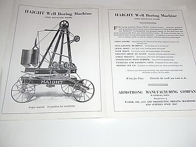 Armstrong Kerosene Traction Driller original
