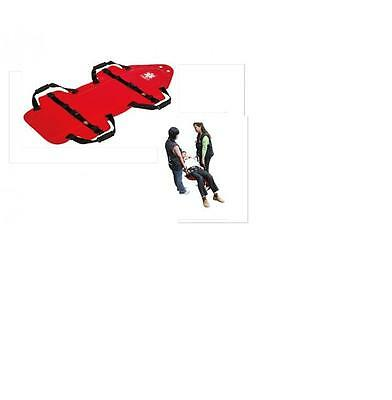 Carry Sheet Emergency Evacuation Folding Stretcher Portable Patient Transfer New
