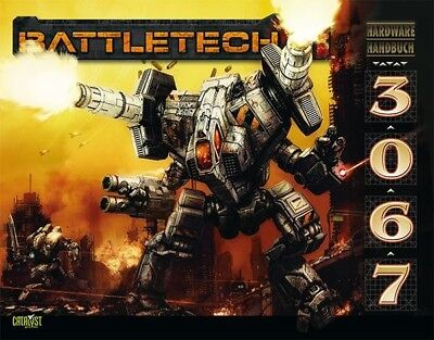 BattleTech Hardware Handbuch 3067 (Deutsch) US44003 Battlemech Catalyst Game Lab