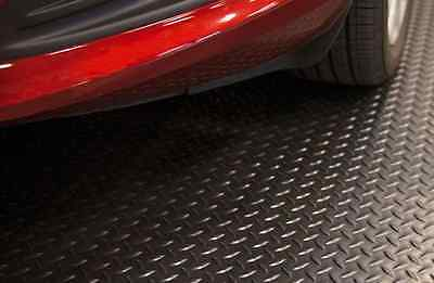HDX 7.5 ft. x 14 ft. Raised diamond Black l High Quality Universal Flooring