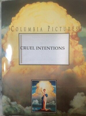 Cruel Intentions Movie Press Kit, Plus Bonus Press Kit Forces Of Nature