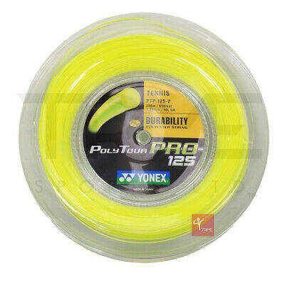 Yonex Poly Tour Pro Tennis String 200m Reel 16L / 1.25mm