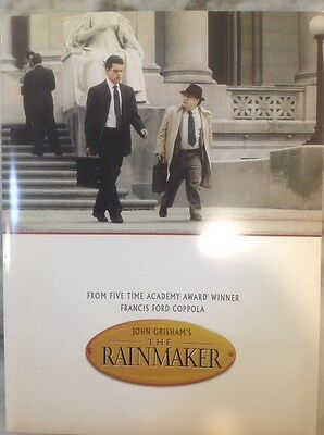 The Rainmaker Movie Press Kit, Plus Bonus Presskit The Boxer