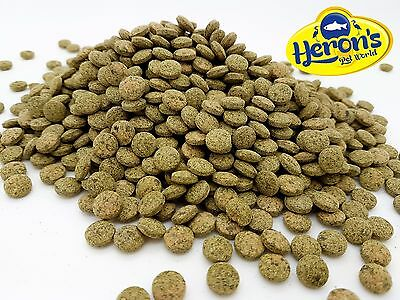HERONS Premium Vegetable Wafers BOTTOM FEEDERS FISH FOOD Algae Sinking Tablets