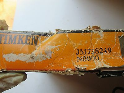 New Timken Tapered Roller Bearing Cone JM738249