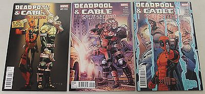 Marvel: Deadpool & Cable: Split Second (2016) #1-3 COMPLETE SET