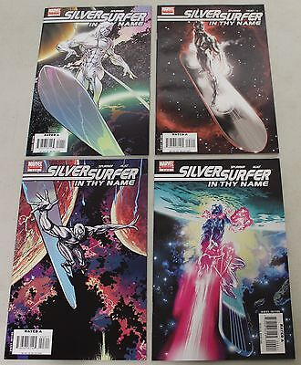 Marvel: Silver Surfer In Thy Name (2007) #1-4 COMPLETE SET