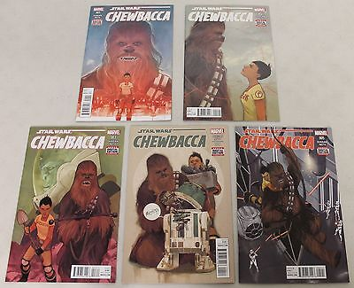 Marvel: Star Wars Chewbacca (2015) #1-5 COMPLETE SET
