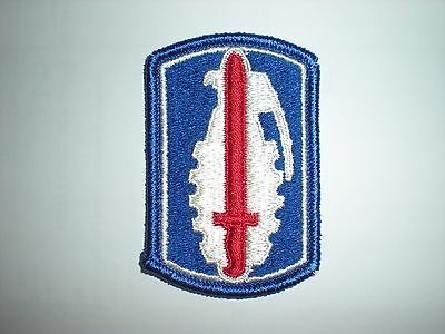 Us Army 191St Infantry Brigade Patch - Full Color