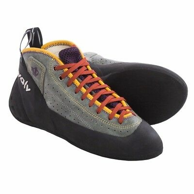 Evolv Astroman Climbing Shoes For Men and Women Grey New