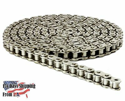 #41NP Nickel Plated Chain 3 Feet with 1 Connecting Link Corrosion Resistant