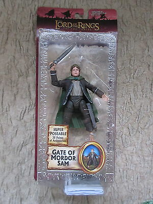 LOTR Lord of the Rings Gate of Mordor Sam Toybiz The Two Towers