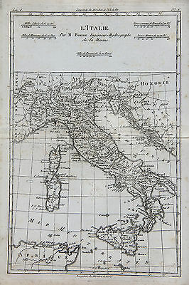 1780 - Italy with Various Early City States