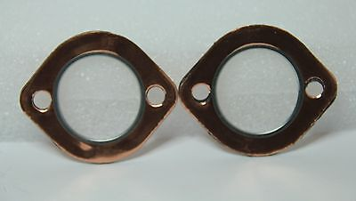 Classic Fiat 500 Fiat 126 Copper Exhaust Manifold Gasket (Pair) Highest Quality