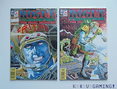 Rogue Trooper the Final Warrior #1 and #2 VF/F