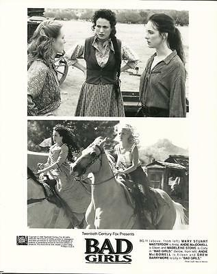 Madeleine Stowe Andie MacDowell Drew Barrymore Bad Girls 1994 movie photo 23737