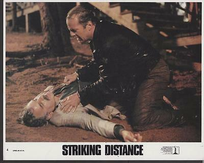 Bruce Willis Dennis Farina Striking Distance 1993 original movie photo 25026