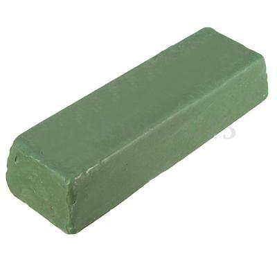 1Pc 110x40x25mm Green Buffing Polishing Compound Paste Soap Wax Metal Grinding