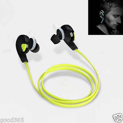 Bluetooth Wireless Handfree Headset Stereo Headphones Earphones Sport Universal